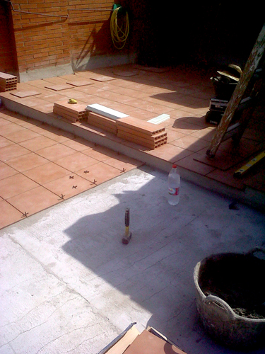 Impermeabilización de cubierta. Reforma 2012