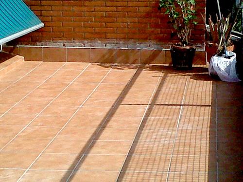 Impermeabilización de cubierta terminada. Reforma 2012