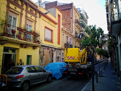 Restauración de fachada. Reforma 2012
